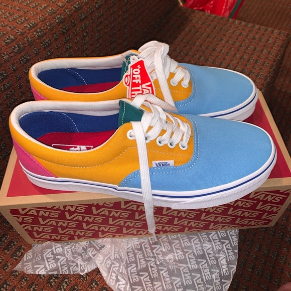 Vans Shoes | Colorful Vans | Poshmark